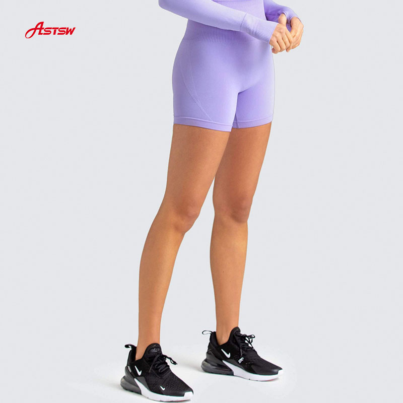 Elastic Workout seamless Shorts