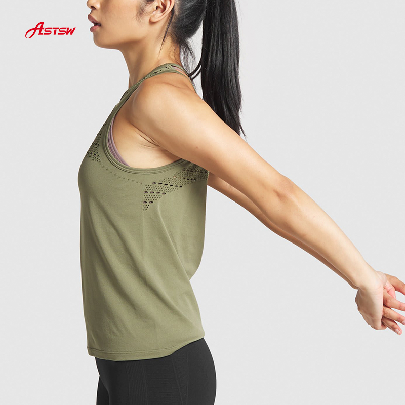 ladies seamless loose vest