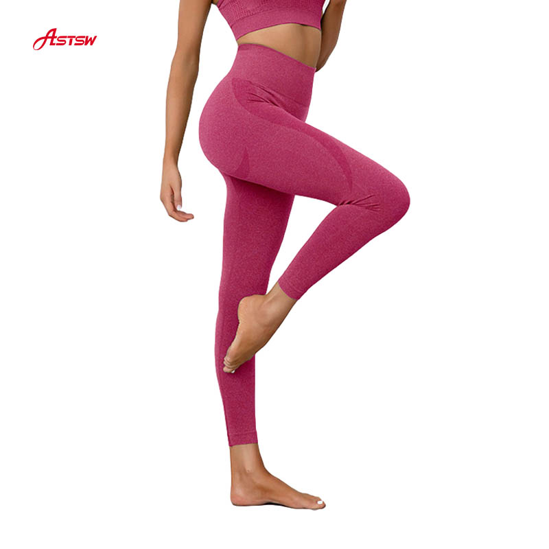 ladies seamless yoga pants custom