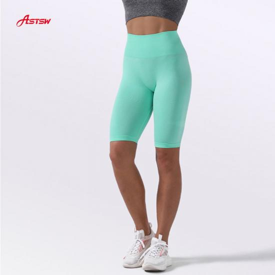 customized girl seamless sports shorts