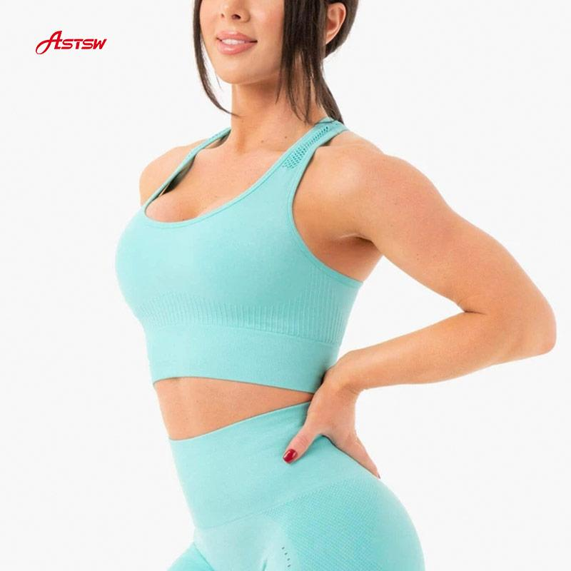 customized women seamless sports bra